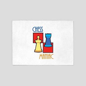 Chess Maniac 5'x7'Area Rug