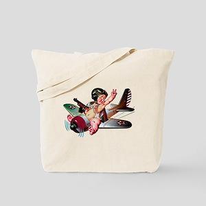 BABY PILOT Tote Bag