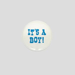 It's A Boy Mini Button