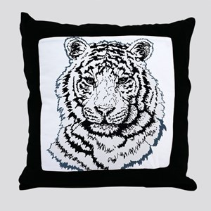 Tiger Graphic Throw Pillow
