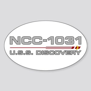 USS Discovery - Grey Hull Edition Sticker