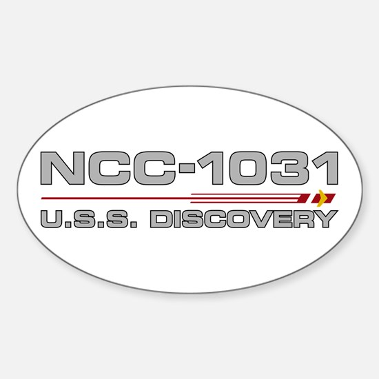 USS Discovery - Grey Hull Edition Decal