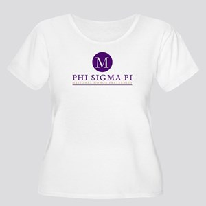 Phi Sigma Pi Women's Plus Size Scoop Neck T-Shirt