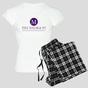 Phi Sigma Pi Monogrammed Women's Light Pajamas