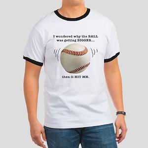 Baseball Pun--  Ringer T