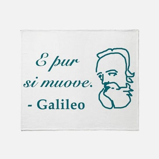 Galileo-2.png Throw Blanket