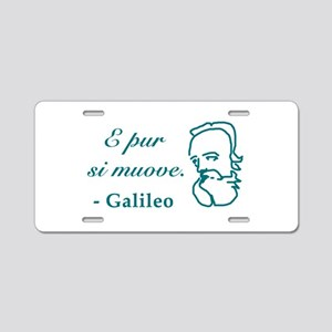 Galileo-2 Aluminum License Plate