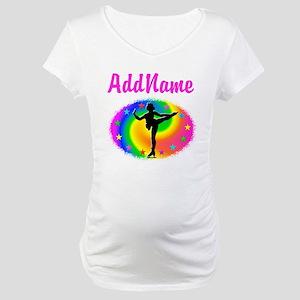 LOVE SKATING Maternity T-Shirt