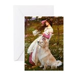 Windflowers / Golden Greeting Cards (Pk of 10)