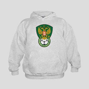 Russia Football  Kids Hoodie