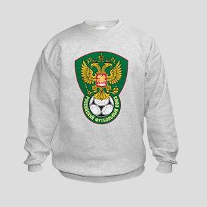 Russia Football  Kids Sweatshirt