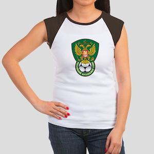 Russia Football  Women's Cap Sleeve T-Shirt