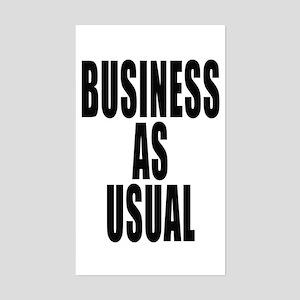 Business Rectangle Sticker