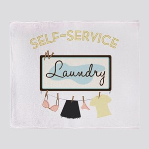 Self-Service Throw Blanket