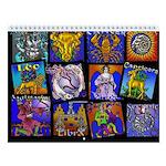 Zodiac Wall Calendar