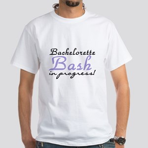 Bash in Progress Lilac White T-Shirt