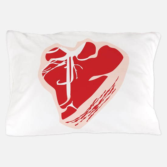 Steak Pillow Case
