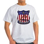 USS DANIEL BOONE Ash Grey T-Shirt