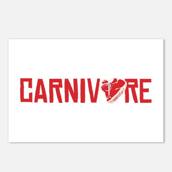 Carnivore Postcards (Package of 8)