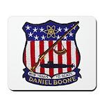 USS DANIEL BOONE Mousepad