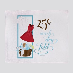 25c Wash Dry Fold Throw Blanket