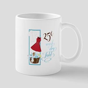25c Wash Dry Fold Mugs