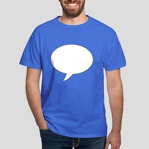 Speech Bubble Dark T-Shirt