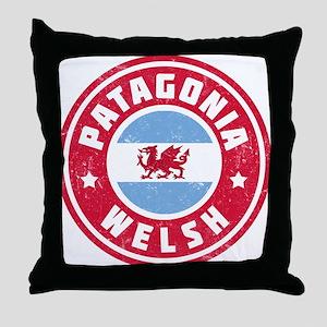 Patagonia Welsh Flag Throw Pillow