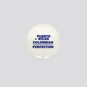 Puerto Rican + Colombian Mini Button
