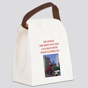 ZIP1 Canvas Lunch Bag
