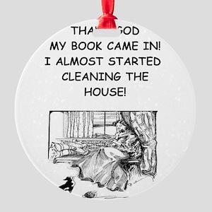 reader Ornament