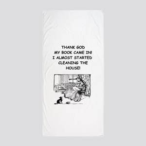 reader Beach Towel