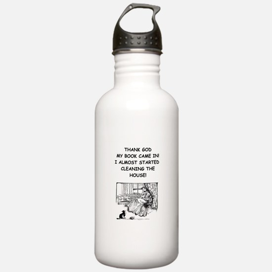 reader Water Bottle