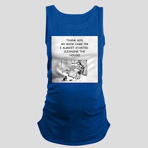 reader Maternity Tank Top
