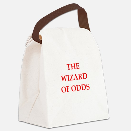 odds Canvas Lunch Bag
