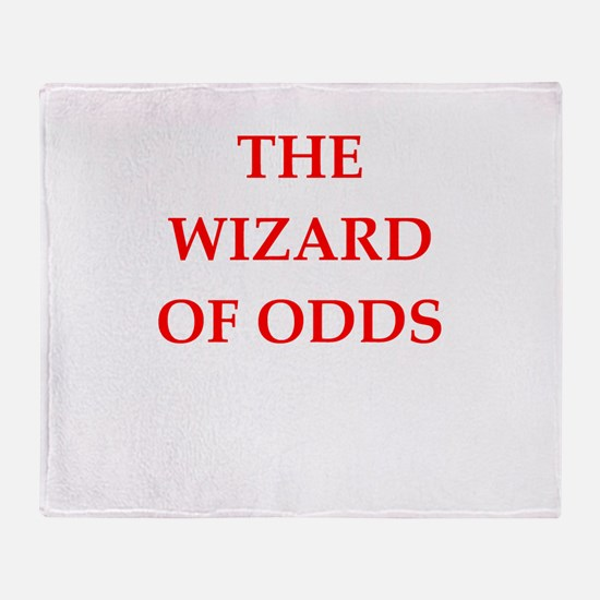 odds Throw Blanket