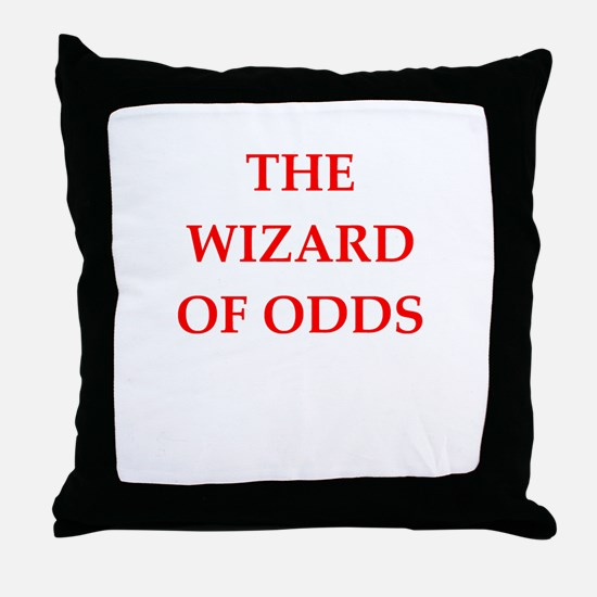 odds Throw Pillow