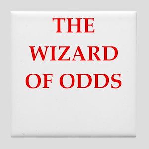 odds Tile Coaster