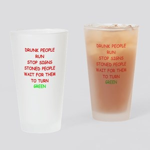 STONED Drinking Glass