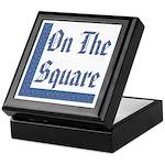 Masonic 'On The Square' Keepsake Box