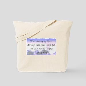 Bowels Empty Tote Bag