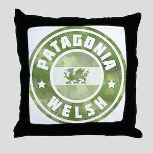 Patagonia Welsh Camo Flag Throw Pillow