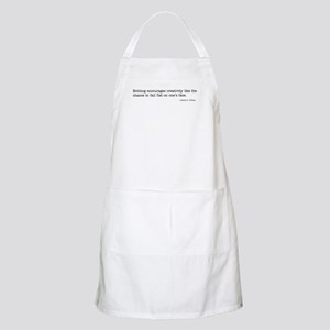 Nothing encourages creativity BBQ Apron