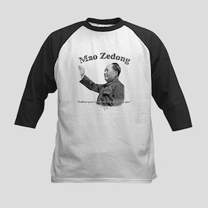 Mao Zedong 03 Kids Baseball Jersey