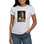 Ophelia & Golden Retriever Women's T-Shirt