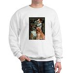 Ophelia & Golden Retriever Sweatshirt