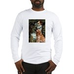 Ophelia & Golden Retriever Long Sleeve T-Shirt
