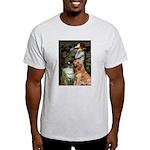 Ophelia & Golden Retriever Light T-Shirt