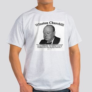 Winston Churchill 01 Light T-Shirt