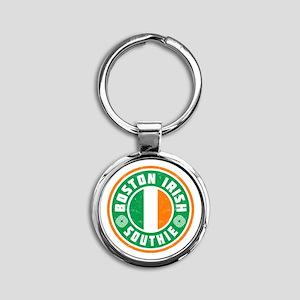 Boston Irish Southie Keychains